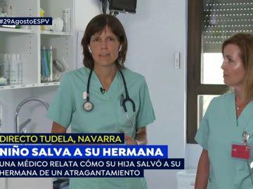 Un niño le salva la vida a su hermana de seis años tras atragantarse con un hielo