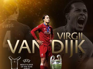 Van Dijk, mejor jugador de la UEFA