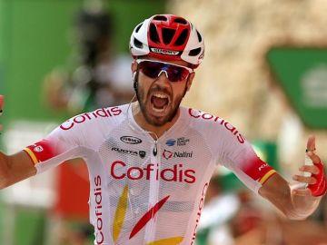 Jesús Herrada gana en la Vuelta