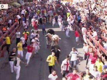 REEMPLAZO | Vídeo del tercer encierro de las fiestas de San Sebastián de los Reyes 2019