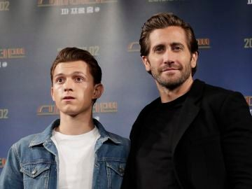 Tom Holland y Jake Gyllenhaal, protagonistas de 'SpiderMan: Lejos de Casa'