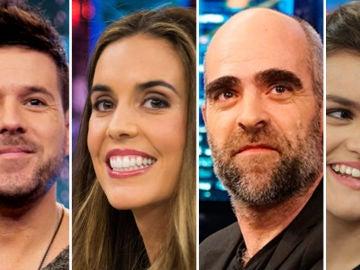 Primeros invitados en El Hormiguero: Pablo López, Amaia, Luis Tosar y Ona Carbonell