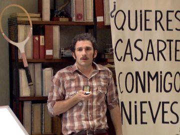'Amar es para siempre': Nieve le dice 'sí' a Miguel al creer que le está pidiendo matrimonio