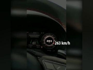 Pillan a un conductor conduciendo a 236 km/h en Barcelona