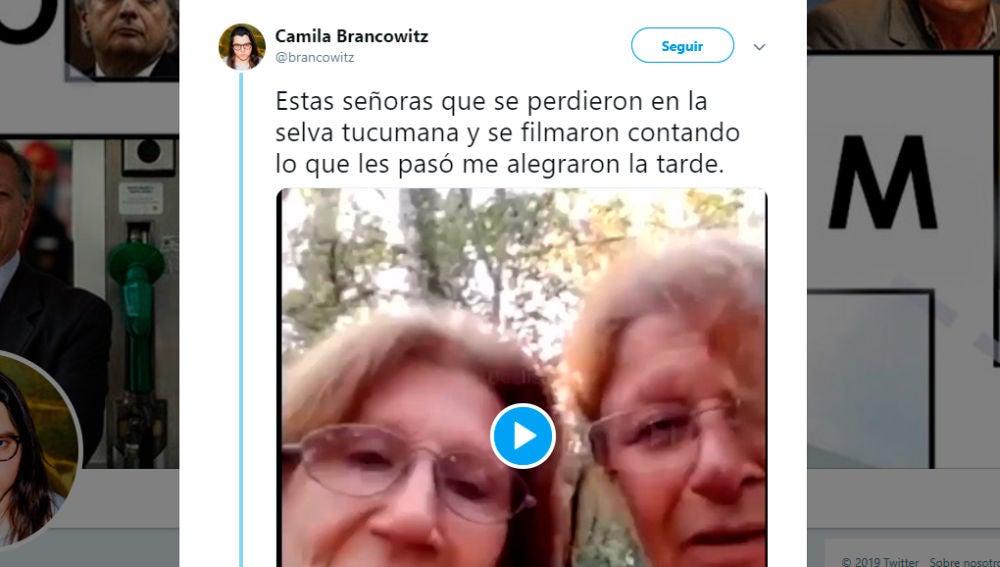 Vídeo de las dos hermanas perdidas