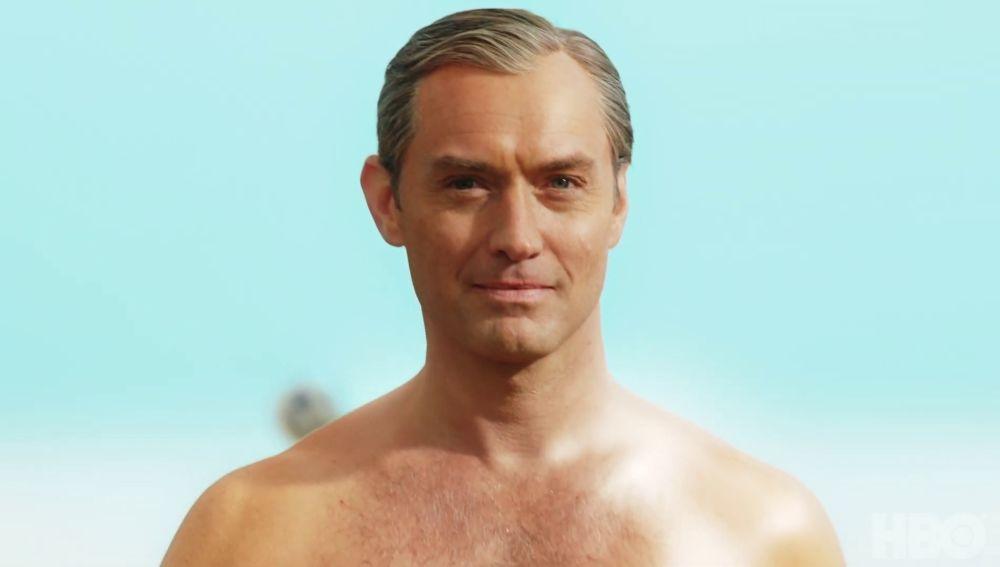 Jude Law en el tráiler de 'The New Pope'