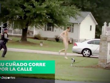 La detención del triple asesino de Virginia: huye desnudo y estrangula a un hombre en plena callea