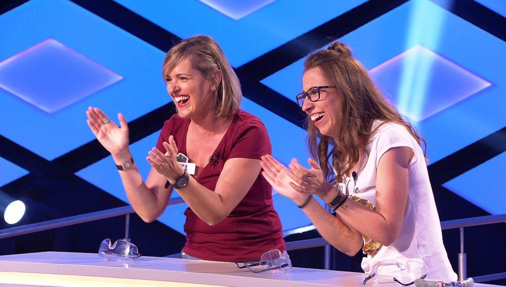 La inmensa alegría de las 'Recesvintas' al revalidar victoria en '¡Boom!'
