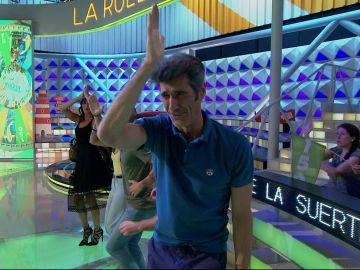 La canción que menos le gusta a Jorge Fernández protagonista de un panel en 'La ruleta de la suerte'