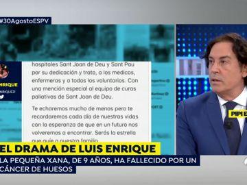 Pipi Estrada sobre el drama de Luis Enrique