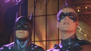 George Clooney y Chris O'Donnell en 'Batman y Robin'