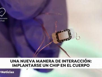 Chips implantados en el cuerpo para abrir el coche o fichar en la oficina