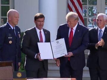 Trump pone en marcha el mando espacial para defender la hegemonía de Estados Unidos en el espacio
