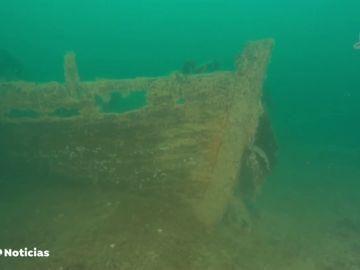 Encuentra intacto un barco hundido en 1875