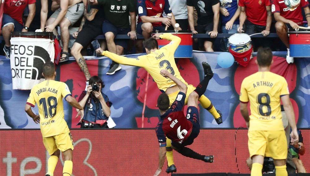 Empate entre Osasuna y FC Barcelona