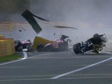 Espectacular accidente en la Fórmula 2