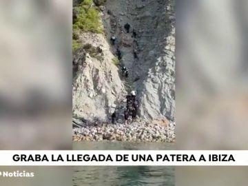 Detienen a 16 migrantes que han llegado en tres pateras a Ibiza
