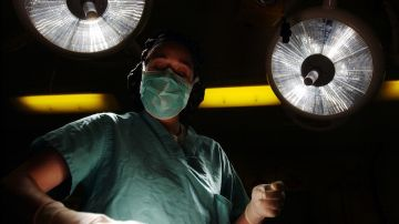 Imagen de archivo de una operación de cirugía