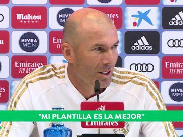 """Zidane: """"Hicimos una buena semana y la queremos trasladar al campo mañana"""""""