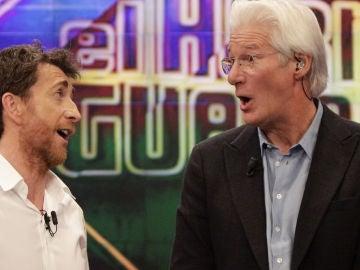 Pablo Motos y Richard Gere en 'El Hormiguero 3.0'