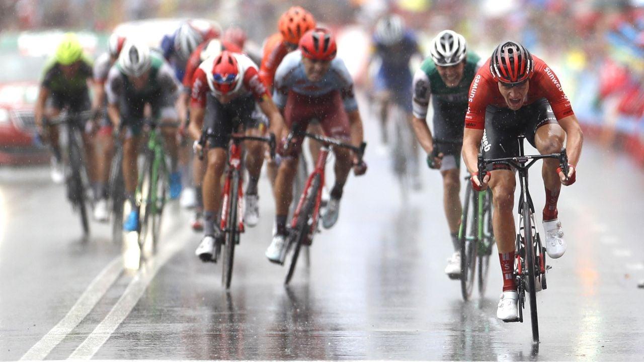 Etapa 8 Vuelta A España 2019: El Alemán Nikias Arndt Gana