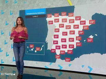 La semana arranca con posibles tormentas en el nordeste peninsular