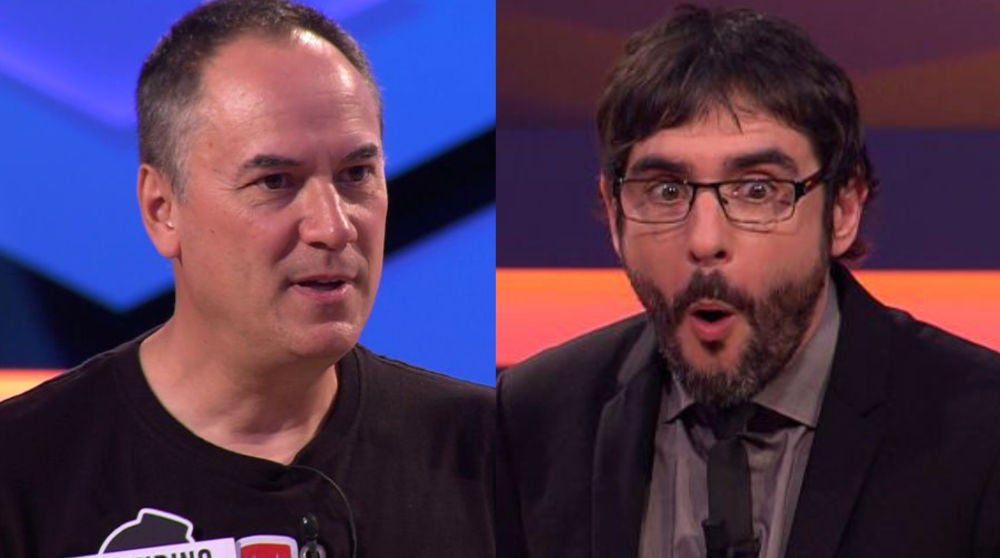 Erundino Alonso y Juanra Bonet en '¡Boom!'