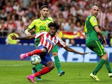 Thomas marca para dar la victoria al Atlético de Madrid