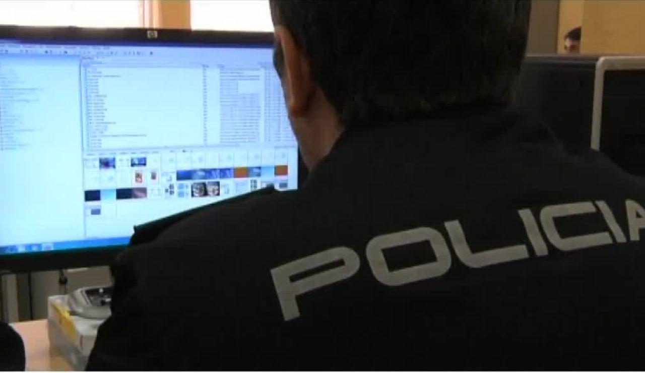 Agentes de Policía Nacional contra la pederastia