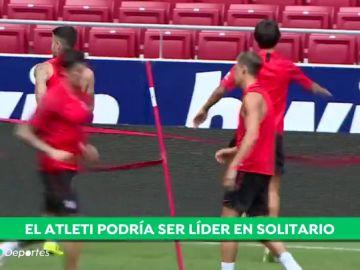 El Atlético de Madrid quiere continuar con la racha de victorias y ser el primer líder en solitario