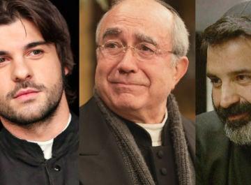 Gonzalo, Don Anselmo y Don Berengario en 'El secreto de Puente Viejo'