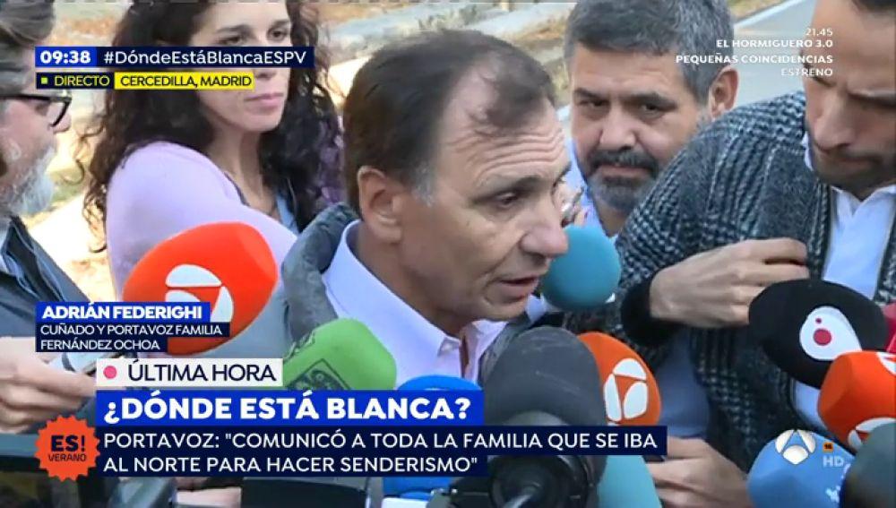 Portavoz Blanca Fernández Ochoa