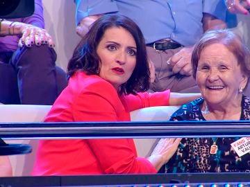 Silvia Abril interrumpe a Arturo Valls en '¡Ahora caigo!'