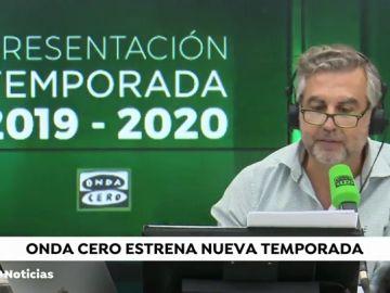Onda Cero estrena temporada con las mejores voces de la radio