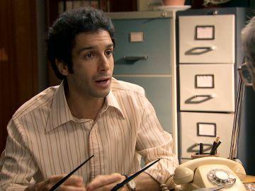 Ignacio le cuenta desesperado a Quintero sus sospechas sobre Alicia
