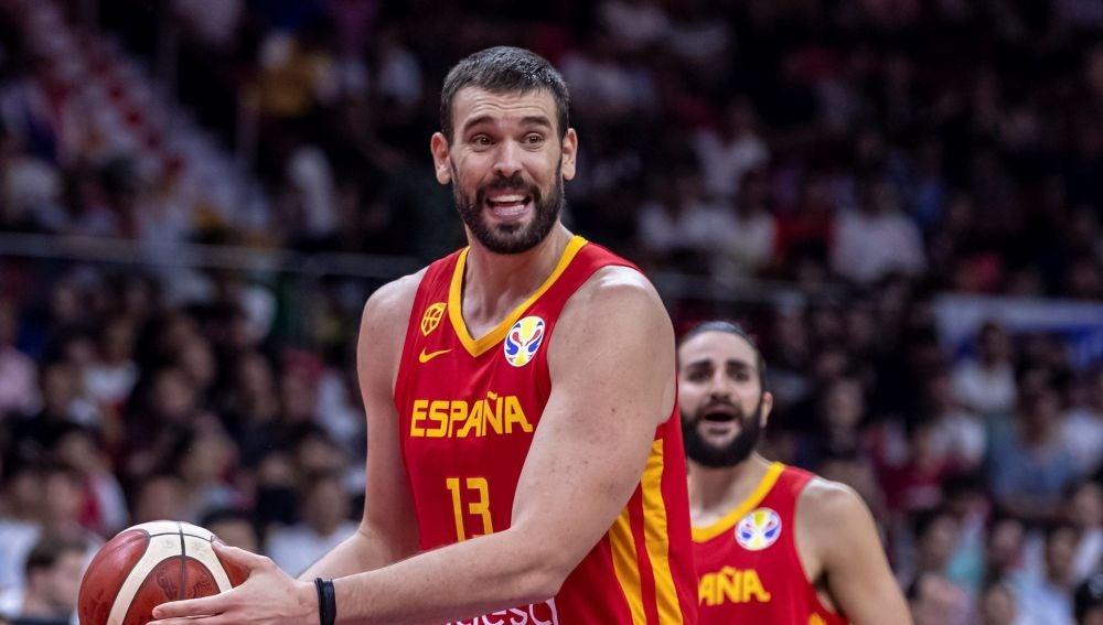 Marc Gasol, en acción en el Mundial de Baloncesto