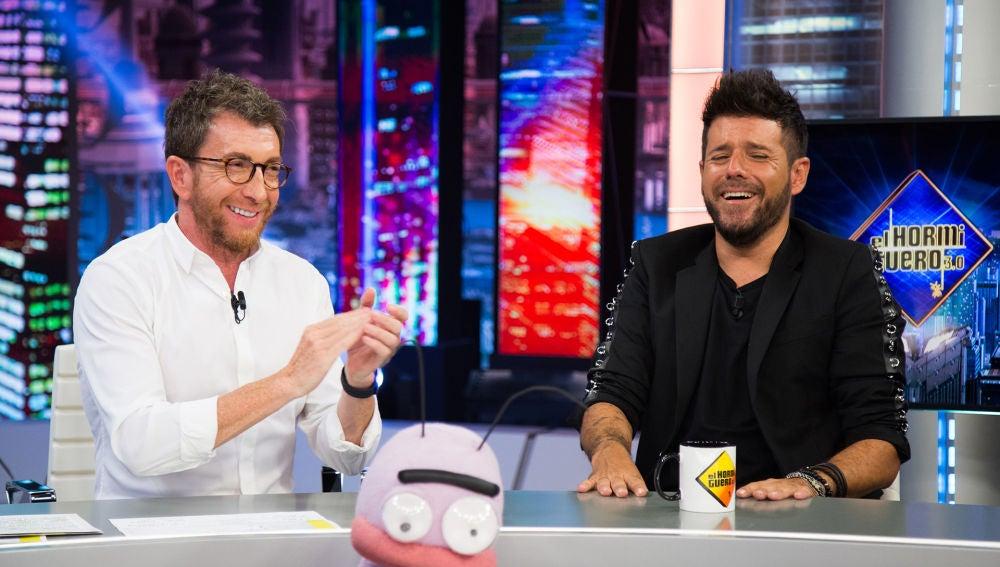 Trancas y Barrancas juegan con Pablo López a la 'Face app' en 'El Hormiguero 3.0'