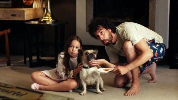 Sucedáneo, el perro perdido de Marta, aparece en casa de Javi