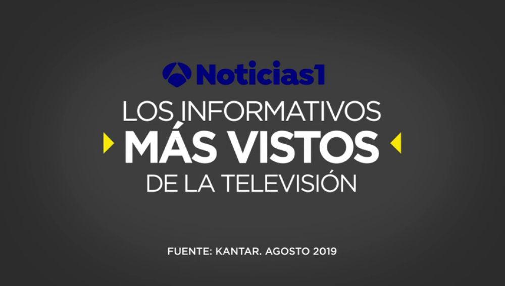 Atresmedia TV, único grupo audiovisual que crece en agosto