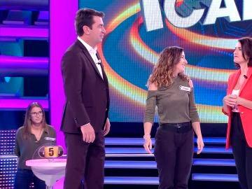 Silvia Abril y Arturo Valls en '¡Ahora caigo!'
