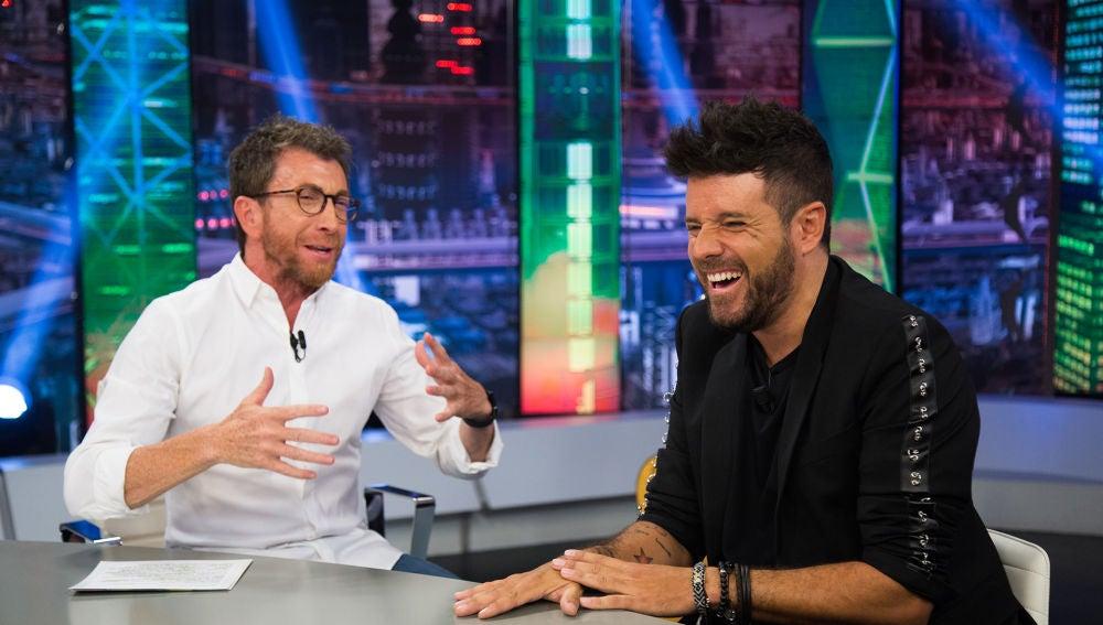 """El divertido comentario de Pablo López en 'El Hormiguero 3.0' sobre su gira: """"Sólo podía acabar en Ibiza"""""""