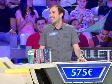 El extraño sueño de Daniel se hace realidad en 'La ruleta de la suerte'