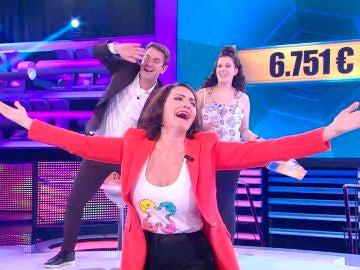 Silvia Abril se despide de '¡Ahora caigo!'