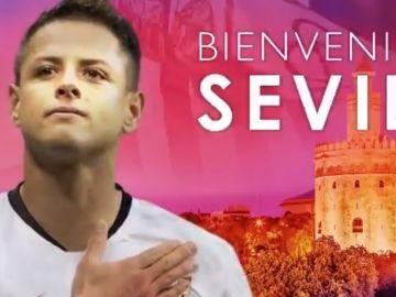 Chicharito, nuevo jugador del Sevilla