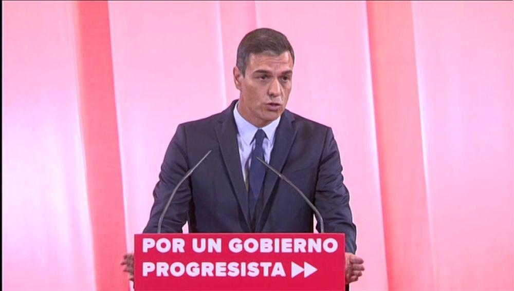 El programa de Pedro Sánchez para negociar con Podemos