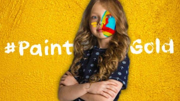 'Paint Gold', iniciativa de NIÑOS CON CÁNCER para concienciar a la sociedad sobre el cáncer infantil