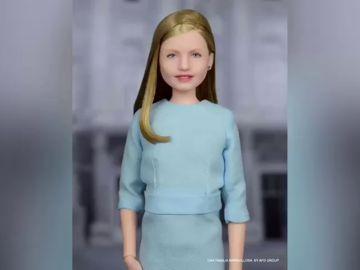 La princesa Leonor ya tiene muñeca con su cara
