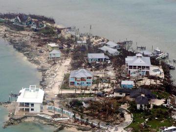 El paso de Dorian por Bahamas