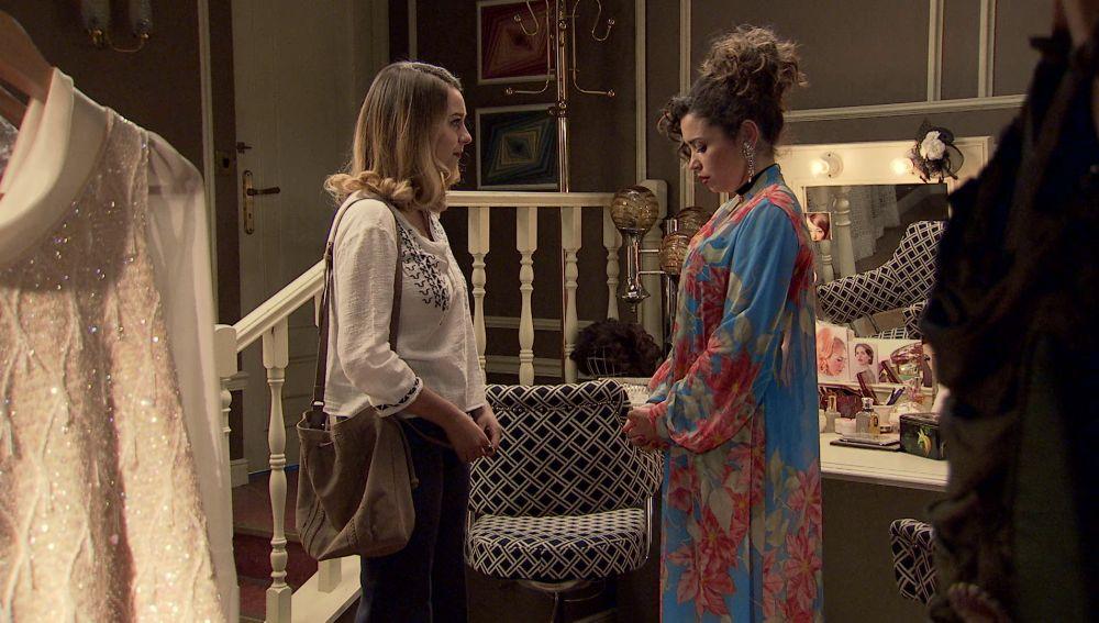 Luisita y Amelia en 'Amar es para siempre'