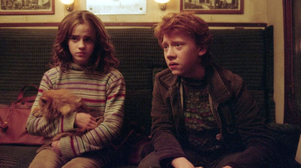Hermione y Ron en 'Harry Potter y el prisionero de Azkaban'